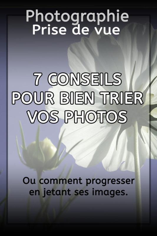 conseils pour trier ses photos