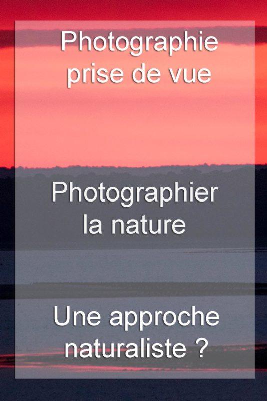 la photographie nature